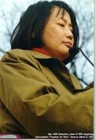 Wei Shanshan, sorella di Wei Jingsheng.