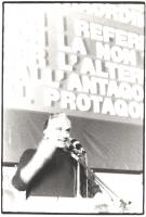 21° Congresso del PR. Pannella al microfono.