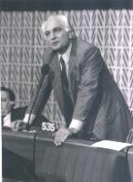Marco Pannella, al Parlamento Europeo.