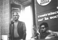 Marco Pannella e Roberto Cicciomessere, al 10° Congresso del PR.