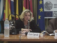 """Cinzia Caporale interviene al convegno: """"Scienza, Chiesa e libertà"""", promosso dal PR e dai deputati europei della lista Bonino."""