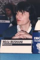 """""""Mirie Rushani. (Kossovo) al 36° congresso PR con cartellino """"""""iscritta""""""""."""""""