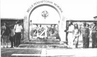 8a marcia antilmilitarista. Al cimitero militare di Redipuglia.