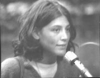Mirella Parachini (in occasione dell'8a marcia antimilitarista Trieste-Aviano).
