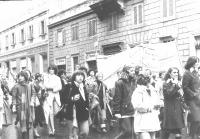 Corteo del Movimento di Liberazione della Donna.