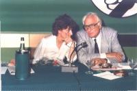Adelaide Aglietta e Marco Pannella, al 33° Congresso straordinario del PR.