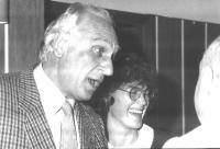 Marco Pannella e Mirella Parachini.
