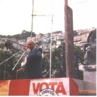 Comizio di Marco Pannella.