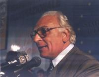 Marco Pannella, al 1° Congresso italiano del PR.