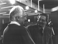 Marco Pannella e Cesare Salvi.
