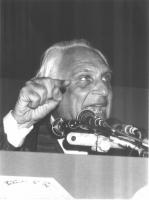 Marco Pannella, al 35° Congresso.
