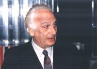 Marco Pannella a una trasmissione televisiva di Tribuna Politica.