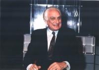 Marco Pannella a una trasmissione di Tribuna Politica.