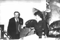 Enzo Tortora e Adelaide Aglietta.