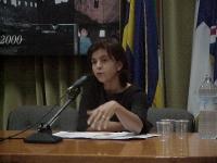 Anne Nivat (giornalista di Liberation) al convegno CECENIA: UNA GUERRA NASCOSTA (promosso dal Partito Radicale e dai deputati europei della Lista Boni