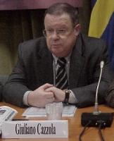 Giuliano Cazzola (al convegno, promosso dalla Lista Bonino, PENSIONI: UNA BOMBA AD OROLOGERIA).