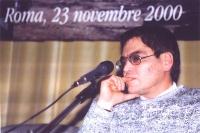 Andrej Babitski, giornalista - autore del reportage sulla Cecenia trasmesso da BBC.