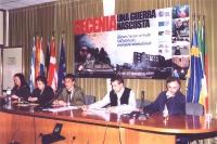 """Tavolo di presidenza della conferenza """"CECENIA: UNA GUERRA NASCOSTA"""" (organizzata dal Partito Radicale  e dai deputati europei della lista Bonino pres"""
