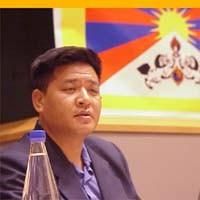3° seminario europeo sul Tibet. Penpa TSERING, (India) membro del parlamento tibetano in esilio.
