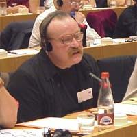 3° seminario europeo sul Tibet, al Parlamento Europeo. Anthony O'BRIEN, Ireland, Tibet Support Groupe