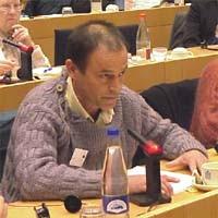 3° se,minario europeo sul Tibet al Parlamento Europeo. Gabriel CORBALAN, France