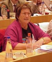 3° seminario europeo sul Tibet, al PE. Marcelle ROUX, France, President of France-Tibet