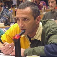 3° seminario europeo sul Tibet, al Parlamento Europeo. François FOURCADE, France.
