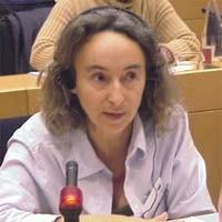 3° seminario europeo sul Tibet, al Parlamento Europeo. Françoise DE BOCK, France
