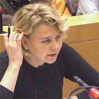 3° seminario europeo sul Tibet al Parlamento Europeo. Eva KADZIERSKA, Polonia.