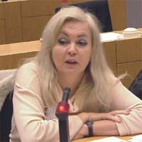 3° seminario europeo sul Tibet al Parlamento Europeo. Michèle DEPRIS, France