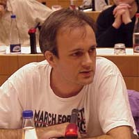 3° seminario europeo sul Tibet. Christophe CUNNIET, France, Association France-Tibet