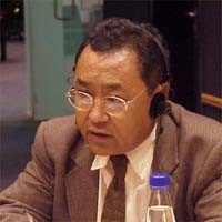 3° seminario europeo sul Tibet. Kunzang CHOEPEL, France, President of the tibetan community in France.