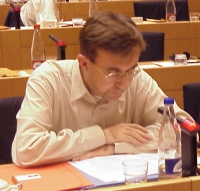 Giulio MANFREDI, Italy, Radical (al 3° seminario europeo sul Tibet al Parlamento Europeo).
