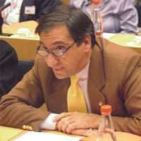 Piero VERNI, Italy, President of Italia-Tibet, al 3° seminario europeo sul Tibet al Parlamento Europeo.