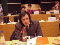 Sergei VORONTSOV, Russia, Radicale, al 3° seminario europeo sul Tibet al Parlamento Europeo.