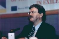 Thomas Mann - membro del Parlamento Europeo (Germania) - al 3° seminario europeo sul Tibet.