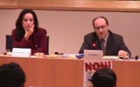 Giornata internazionale contro le mutilazioni genitali femminili. European Commissioner Anna Diamantopoulou and European Commissioner Antonio Vitorino