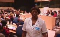 Giornata internazionale contro le mutilazioni genitali femminili. Olayinka Koso-Thomas (medico della Nigeria, Presidente della Sierra Leone Section of