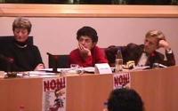Giornata mondiale contro le mutilazioni genitali femminili. Convegno al Parlamento Europeo. Emma Bonino, Sophie Bessis,giornalista, Linda Weil-Curiel