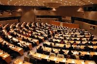 3° seminario europeo sul Tibet al Parlamento Europeo (veduta della sala dall'alto).