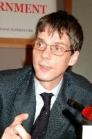 Olivier Dupuis (in occasione del 3° seminario europeo sul Tibet, al Parlamento Europeo).