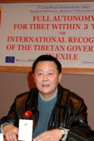 Wei Jingsheng (in occasione del 3° seminario europeo sul Tibet, al Parlamento Europeo).