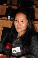 3° seminario europeo sul Tibet. Lhamo Svaluto, vicedepresidente di Les Amis du Tibet - Belgique.