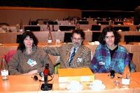 3° seminario europeo sul Tibet (promosso dagli europartamentari radicali e dal PR). Al centro: Lucio Bertè.