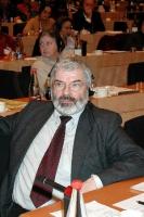 Uli FISCHER, Germania, Coordinatore dei Verdi sulla politica dei diritti umani (al 3° Seminario europeo sul Tibet al Parlamento Europeo).