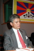 Chhime CHHOEKYAPA, rappresentante del Dalai Lama a Budapest (al 3° seminario europeo sul Tibet al Parlamento Europeo intitolato FULL AUTONOMY FOR TIBE