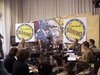 Conferenza stampa con Luca Coscioni, Emma Bonino ed altri.