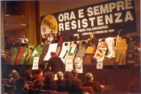 Manifestazione al cinema Adriano a sostegno dei 20 referendum radicali, al vaglio della corte costituzionale.