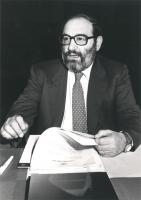 ritratto di Umberto Eco (BN)