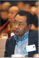 Kunzang Choepel, al seminario sul Tibet.